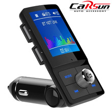 BC45 LCD Display Wireless Bluetooth FM Modulator Transmitter Handsfree Car Kit MP3 Player Audio Auto MP3 Player with USB(China)