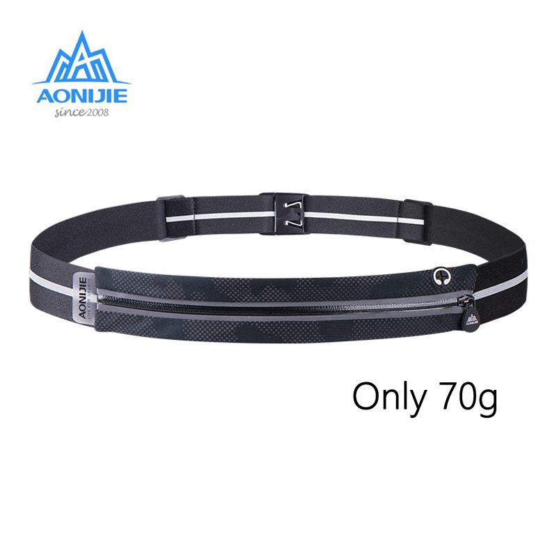 Aonijie Waist Bag Lightweight High Elastic Cycling Portable Waist Packs Ultralight Running Hiking Waist Belt Camping Outdoor