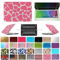 2in1 freeship colorful Hard Case shell For mac Macbook Air Pro Retina 11 12 13 15 + France French Keyboard Skin Cover