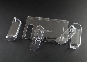 Image 5 - OCGAME Crystal Transparent Clear Protective Hard Case Cover Skin Shell for Nintend Nintendo Switch NS NX Joy con Console