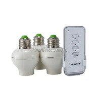 Portalámparas inteligente inalámbrico control remoto E27 Base de lámpara