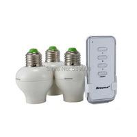 Wireless Smart Lamp Bulb Holder Remote Controller E27 Socket Lamp Base