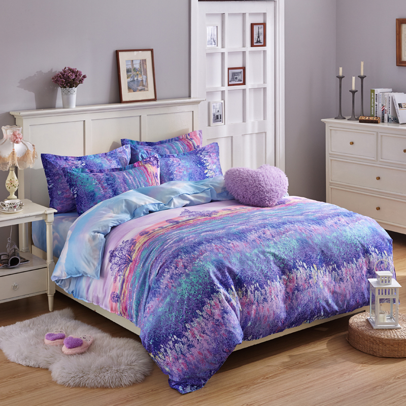 intelligent dp full home nadia purple set queen com amazon kitchen comforter design