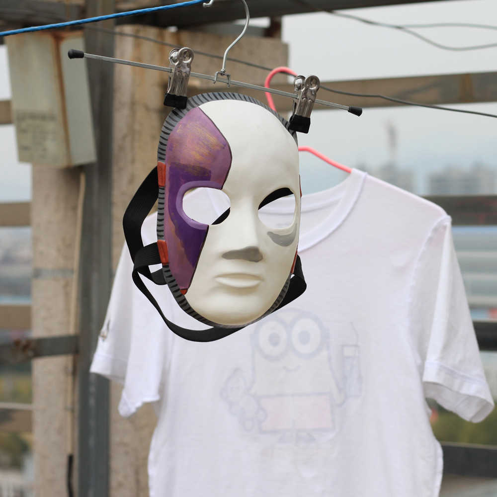 Game Sally Face Cosplay Mask Horror Halloween Party Latex Masks Costume Props Drop Shipping