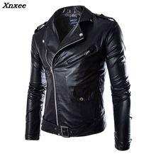 Men's Leather Jacket Fashion Brand Coat 2018 men Biker Jacket Homme Jaqueta De Couro Masculina PU Leather Mens Punk Veste Cuir мужские изделия из кожи и замши genuine leather jacket pp jaqueta masculina