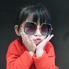 6872b3fd0 Grande Quadro 2-9 anos de Bebê Girls & Boys Crianças Óculos De Sol Bonito