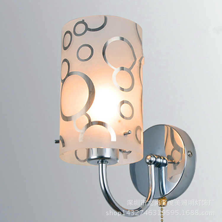 Modern fashion wall lamp, apply to hotels, guesthouses, engineering home bedroom, living room and other places aisle