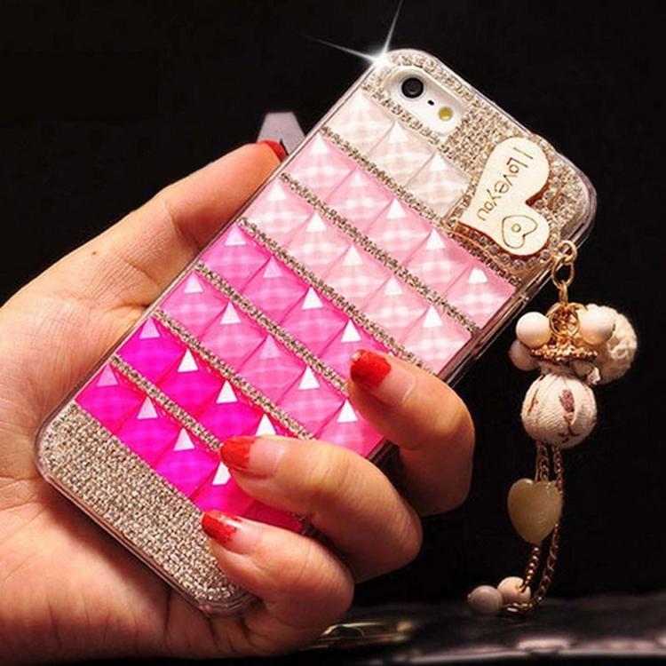 Diamond Case For HTC U11 Eyes Lips Bling Crystal Rhinestone Cover coque fundas - intl