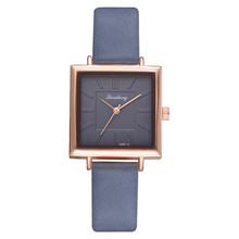 Elegant Square Dial Women's Watches
