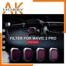 PGYTECH PGY Mavic 2 Pro Camera Lens Filter Set ND8/16/32/64-PL ND8/16/32/64 Filters Kit DJI Mavic 2 Pro Filter Accessories
