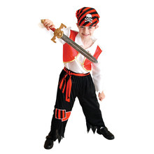 Ahoy Matey Boys Costume Pirate Captain Costumes for Kids Children Halloween Purim Party Carnival Cosplay