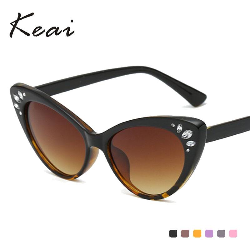 Gradient Cat Eye Sunglasses Women Luxury Brand glasses Rhinestone Decoration Retro Sun glasses Vintage Shades Oculos in Women 39 s Sunglasses from Apparel Accessories
