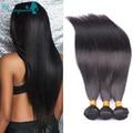 Eurasian Virgin Hair Human Hair Extensions Unprocessed 3Pcs /Lot Eurasian Straight Virgin Hair Bundles Rosa Queen Hair Products