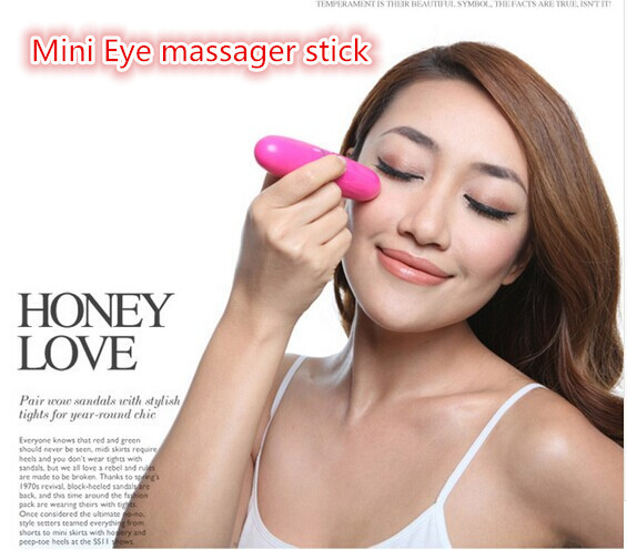 New beauty health face hot sale eye massage stick remove pouch black rim of the eye goes piscine eye care free shipping the health gap