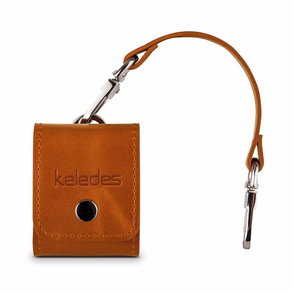 Цена за Для Apple airpods Чехол Air стручки премиум натуральная кожа чехол с металлической Накладные волосы пряжки и кожаный ремешок кожного покрова