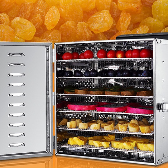 Household 6 Layers Stainless Steel Fruits And Vegetables Food Drying