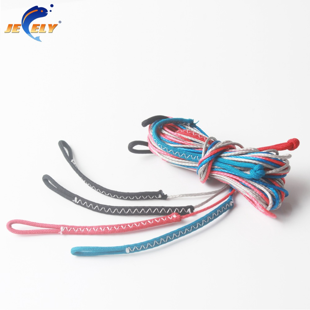 Jeely 4PCS/SET 1.6MM 300KG Kitesurfing Kite and bar Flying line 2Meter Extensions Repair