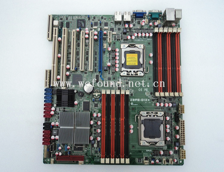 100% Working server Motherboard for Z8PE-D12X X5690 Fully Tested image
