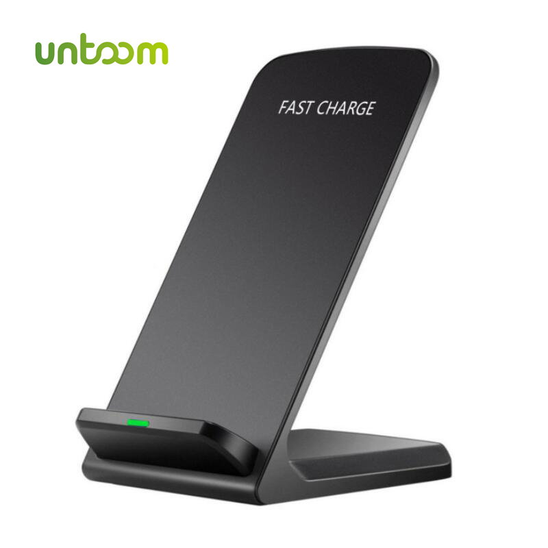 UNTOOM 10 W Qi Sans Fil Chargeur, QC 2.0 Sans Fil De Charge Pad pour iPhone X/8/8 Plus Samsung S6 S7 S8 Plus Note5 Dock Station