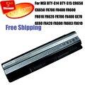 Аккумулятор Для ноутбука MSI BTY-S14 BTY-S15 FR700 CR650 CX650 FR400 FR600 FR620 FR700 FR610 GE60 GE70 FX400 FX420 FX600 FX603 FX610