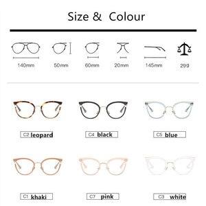 Image 2 - 2019 ออกแบบใหม่ผู้หญิงคุณภาพสูงแว่นตาอ่านหนังสือเต็มรูปแบบขอบรอบ Presbyopia แว่นตาผู้หญิง oculos de leitura