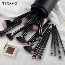 Texamo кисти для макияжа инструмент 23 шт. пудра для макияжа Профессиональная кисть для бровей Тени для век консилер набор кистей для нанесения тонального крема Maquillaje