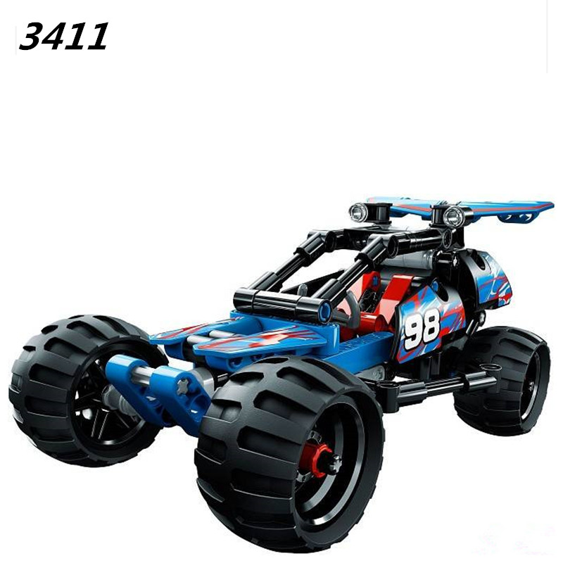 AIBOULLY New Racer Car Descet racer Dazzung Red Racing Car Black Champion Racer Building Toy  3413 3420 Free Shipping стеллаж champion racer crc 1501
