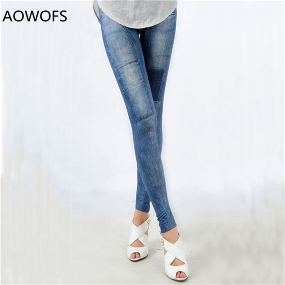 Stylish Sexy Women's Girls Denim   Jeans   Skinny Stretch Pants Trousers Full Length Pencil Pants for Women Autumn Wear Pants