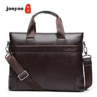 New Men's Briefcase Business Laptop Shoulder Bag Computer Casual Men jooyoo