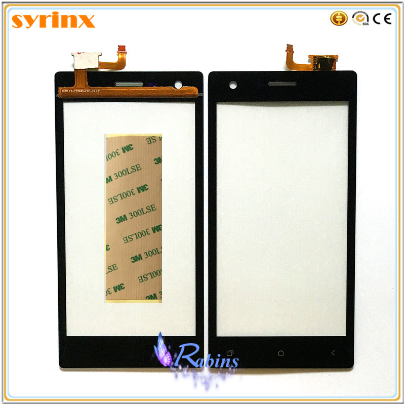 SYRINX 3m Stickers Touch Panel Touchscreen For Micromax Q413 Touch Screen Digitizer Front Glass Digitizer Sensor Replacement