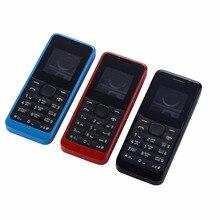 Funda para Nokia 105 1050 RM1120, marco frontal, puerta de batería, cubierta media, keypads y herramienta