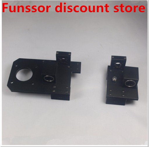 Funssor 1set metal aluminum alloy X axis X-ENDIDLER +X-ENDMOTOR kit/set for Reprap Prusa I3 Rework 3D printer for TR8 lead screwFunssor 1set metal aluminum alloy X axis X-ENDIDLER +X-ENDMOTOR kit/set for Reprap Prusa I3 Rework 3D printer for TR8 lead screw