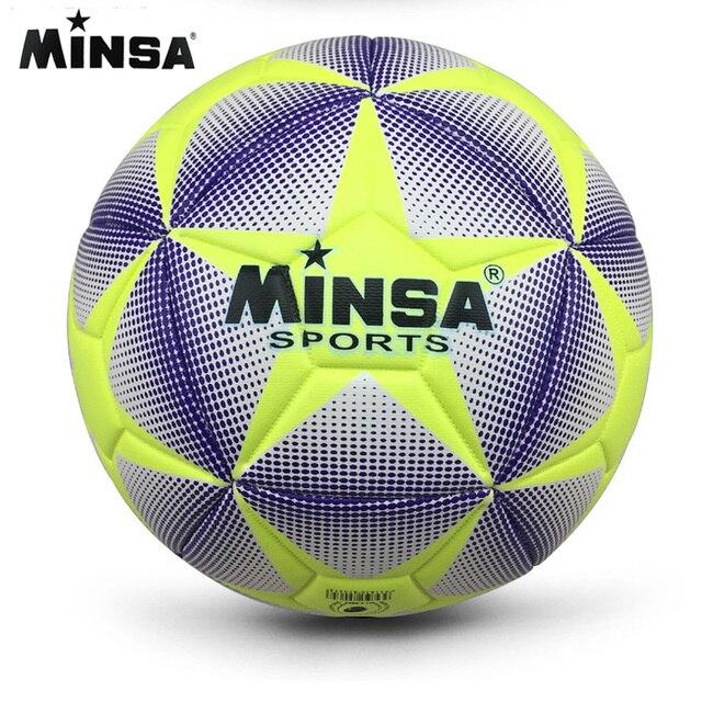 Nuevo chico fútbol balón de fútbol tamaño 4 máquina de coser pelota de fútbol de la PU de la juventud estudiante pelotas de fútbol Amateur formación pie bola
