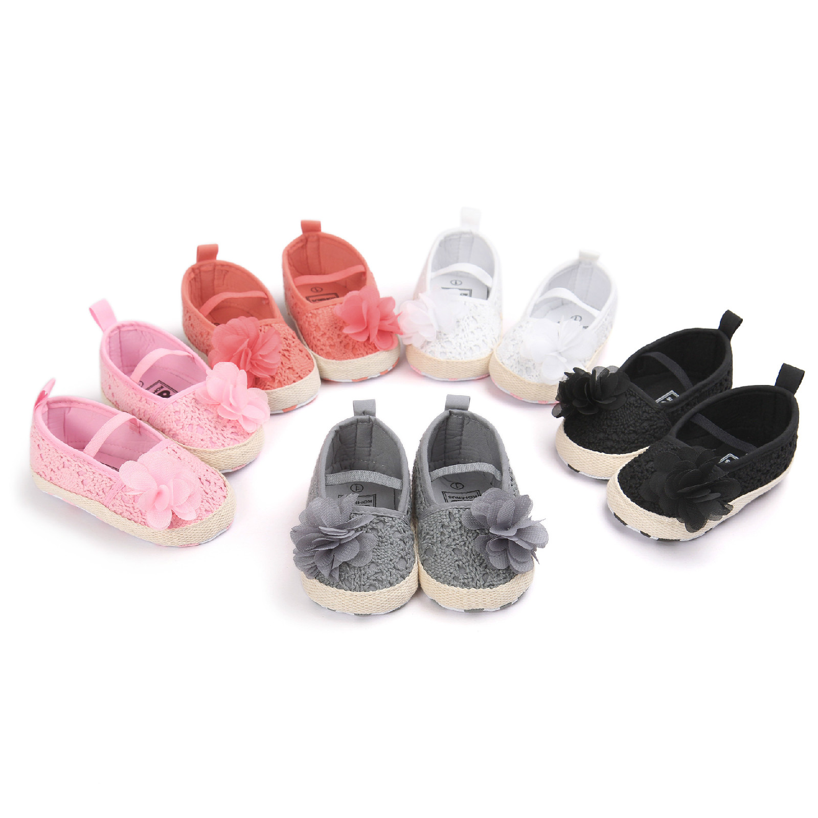 Princess Baby girls crochet shoes toddler infant girl shoes newborn shoes prewalker first walker chaussure bebes candy color