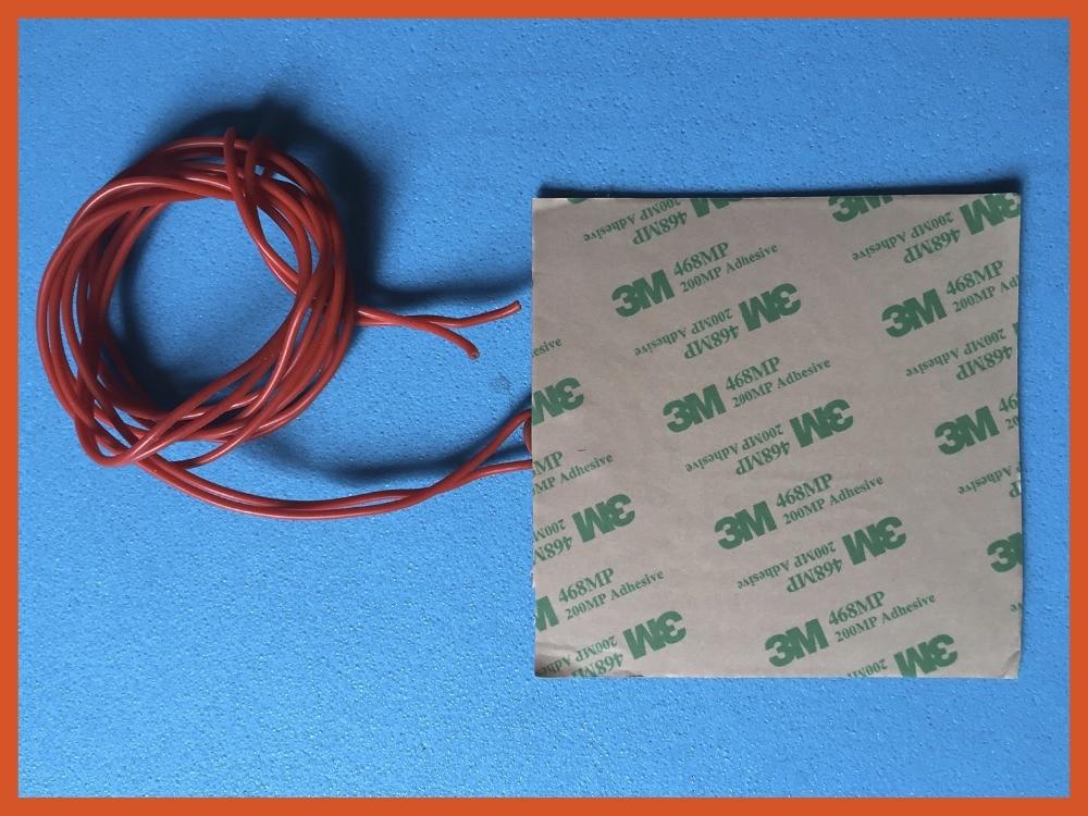 12 v gomma di silicone riscaldatore bed 300 mm x 300 mm (12  x 12 ) per il 3d stampante element heater Anti freezing equipment il segreto di bosco vecchio