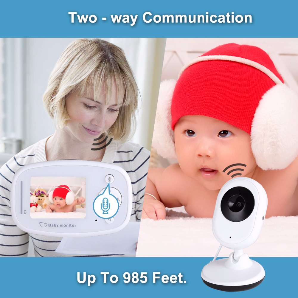 New SP820 Baby Monitor HD 1080P Real-time Monitoring Mobile To Watch Smart Walkie Talkie Wireless Video Baby Monitor with CameraNew SP820 Baby Monitor HD 1080P Real-time Monitoring Mobile To Watch Smart Walkie Talkie Wireless Video Baby Monitor with Camera