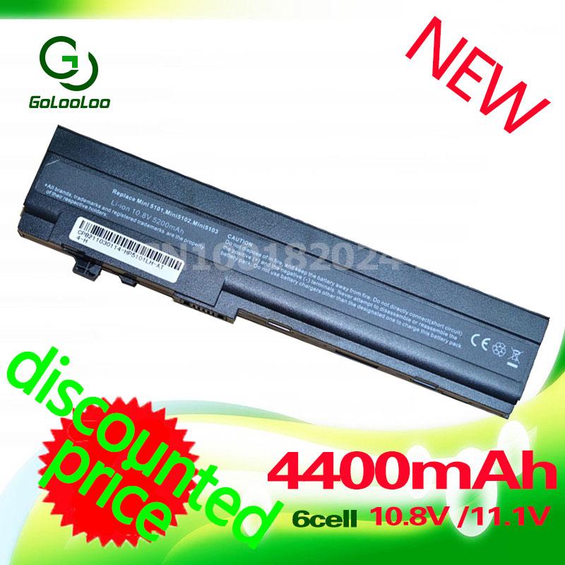 Golooloo 4400mAh battery for hp mini 5101 5102 5103 AT901AA HSTNN DB0G HSTNN OB0F HSTNN I71C