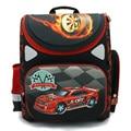 NEW 2016 cartoon car red Racing orthopedic children/kids elementary school bag books/ student backpack for boys class/grade 1-4