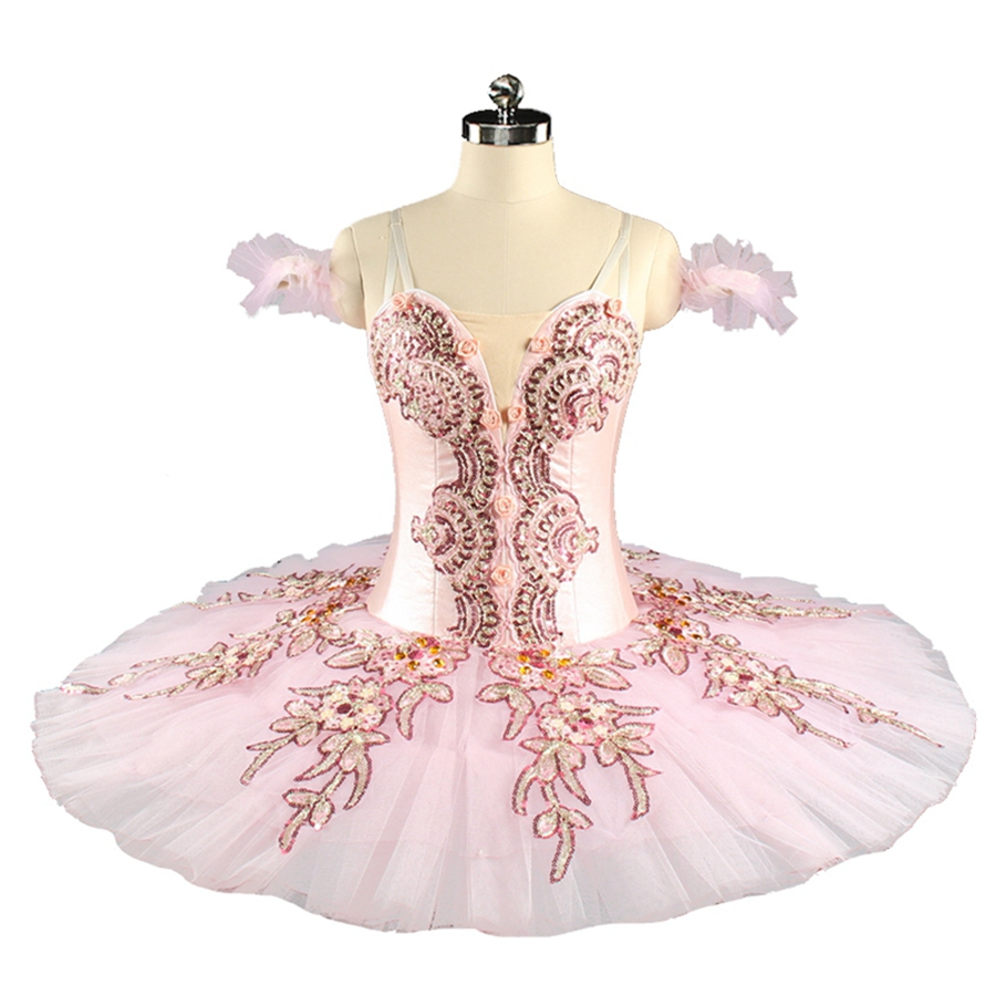 Professional Ballet Tutu Pink Women Nutcracker Fairy Doll Ballet Stage Costumes Sleeping Beauty Pancake Tutu BT9153 tutu 23 beauty moisture lipstick pink 3 8g