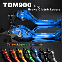 For Yamaha TDM 900 TMD900 2012 2013 2014 Foldable Extendable Adjustable Motorbike Levers Motorcycle Brake Clutch Levers cnc racing adjuster motorcycle brake clutch levers for yamaha tdm 900 2012 2014 2013 motorcycle accessories free shipping