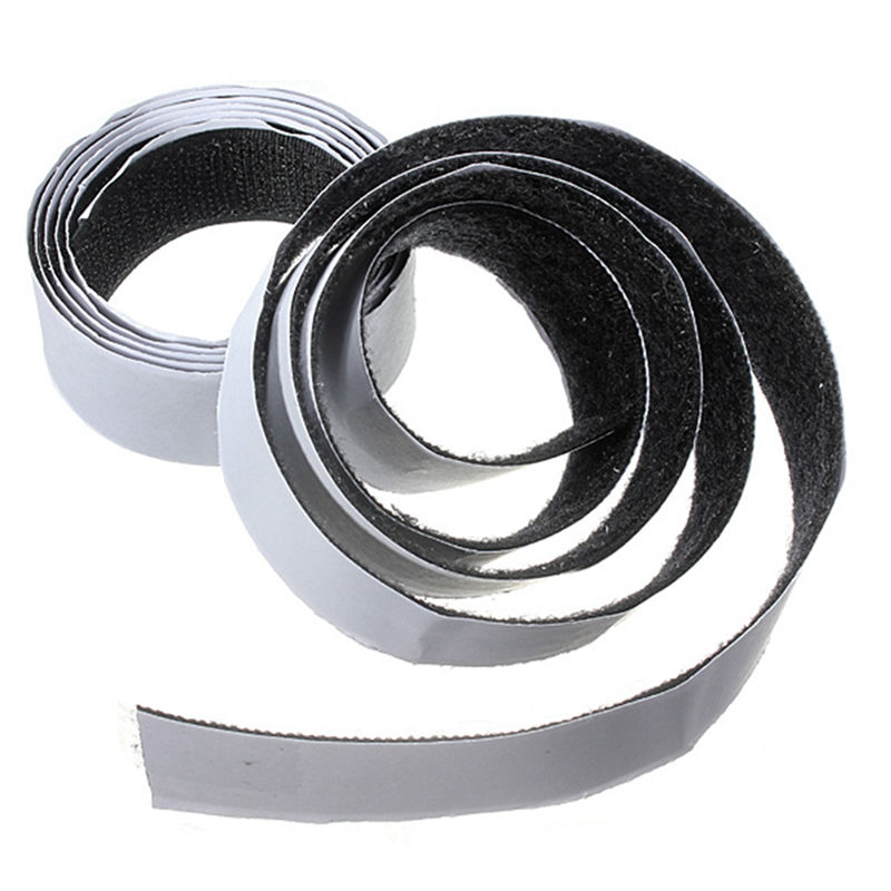 Горячее предложение 1 м x 20 мм/25 мм/50 мм Премиум самоклеющиеся клейкие застежки на липучке