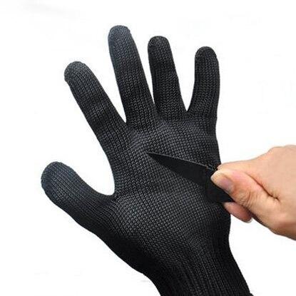5 thick cut resistant gloves anti anti edge knife self-defense explosion-proof security full finger gloves gloves cctv security explosion proof stainless steel general bracket