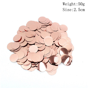 Image 2 - 2020 Rose Gold Series Balloon Disposable Tablecloth Straw Paper Towel Cup Wedding Birthday Party Decoration