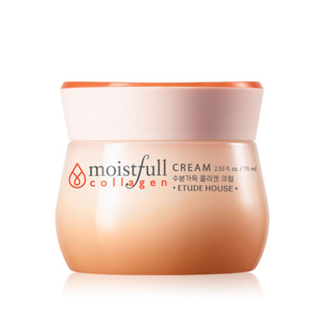 Original Korea Moistfull Collagen Cream 75ml Face Cream Skin Cream Feature Long lasting Moisturizing Nourishing Facial Cream