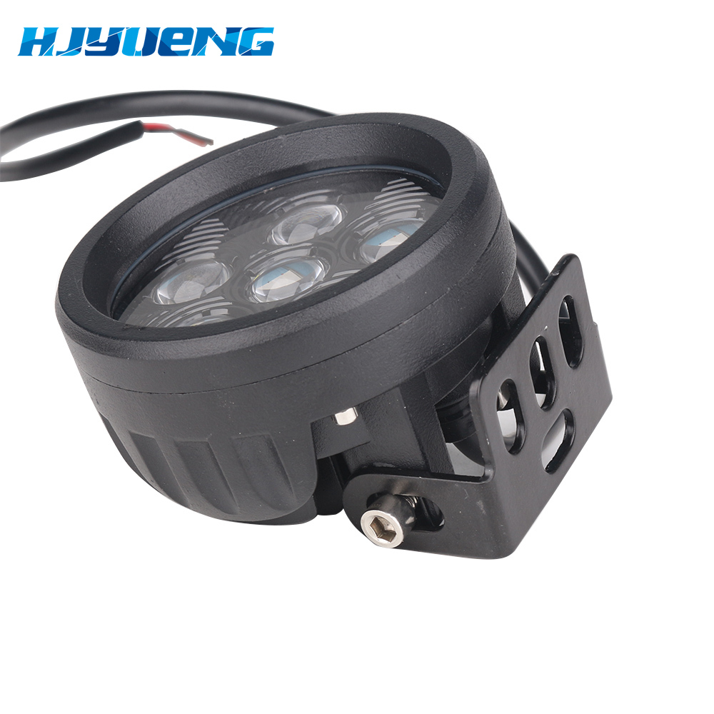 """Image 3 - 1pc 18W 3.5"""" Round Led Work Light Off road Driving Pod Spotlight Fog lights for Jeep SUV ATV Boats Cars Trucks,Forklift,Trains-in Light Bar/Work Light from Automobiles & Motorcycles"""