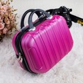 14 Inch Travel Organizador Waterproof ABS Cosmetic Case Tote Makeup Box Toiletry Bag Vanity Case Sorting Beauty Case Suitcase