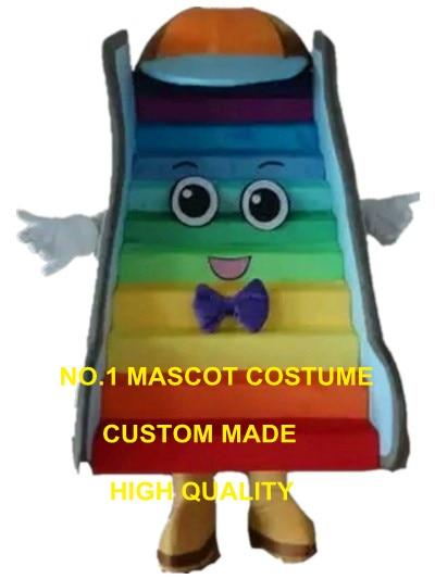 elevator mascot costume stair custom cartoon character cosplay adult size carnival costume 3111
