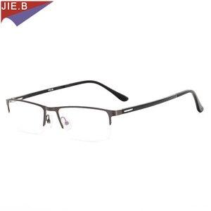 Image 3 - 2019 Titanium Alloy Business affairs Sun glasses Transition Photochromic Reading Glasses Men Presbyopia Glasses +1.0 To +6.0