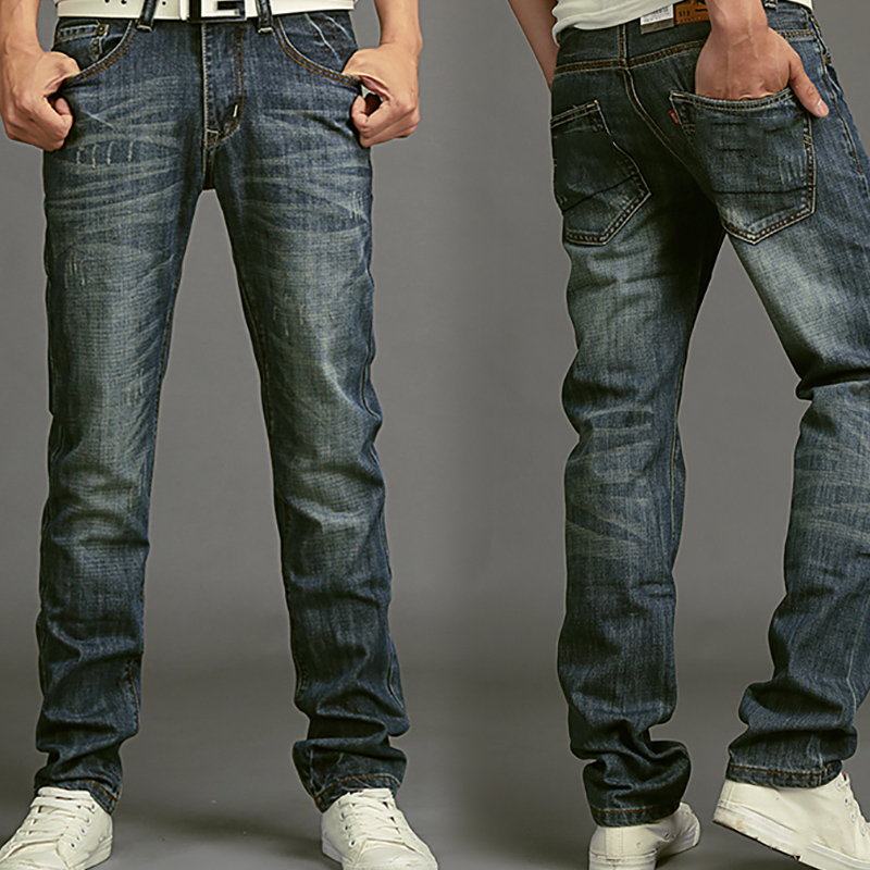Spring men   jeans   straight Korean trousers casual pants 2HL