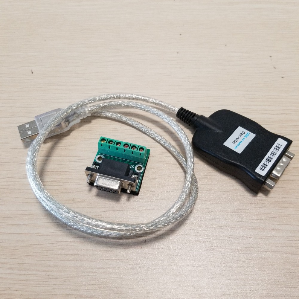 USB 2.0 to RS485 RS422 DB9 COM Serial Port PL2303 Chip Adapter Converter Data Cable 50cm